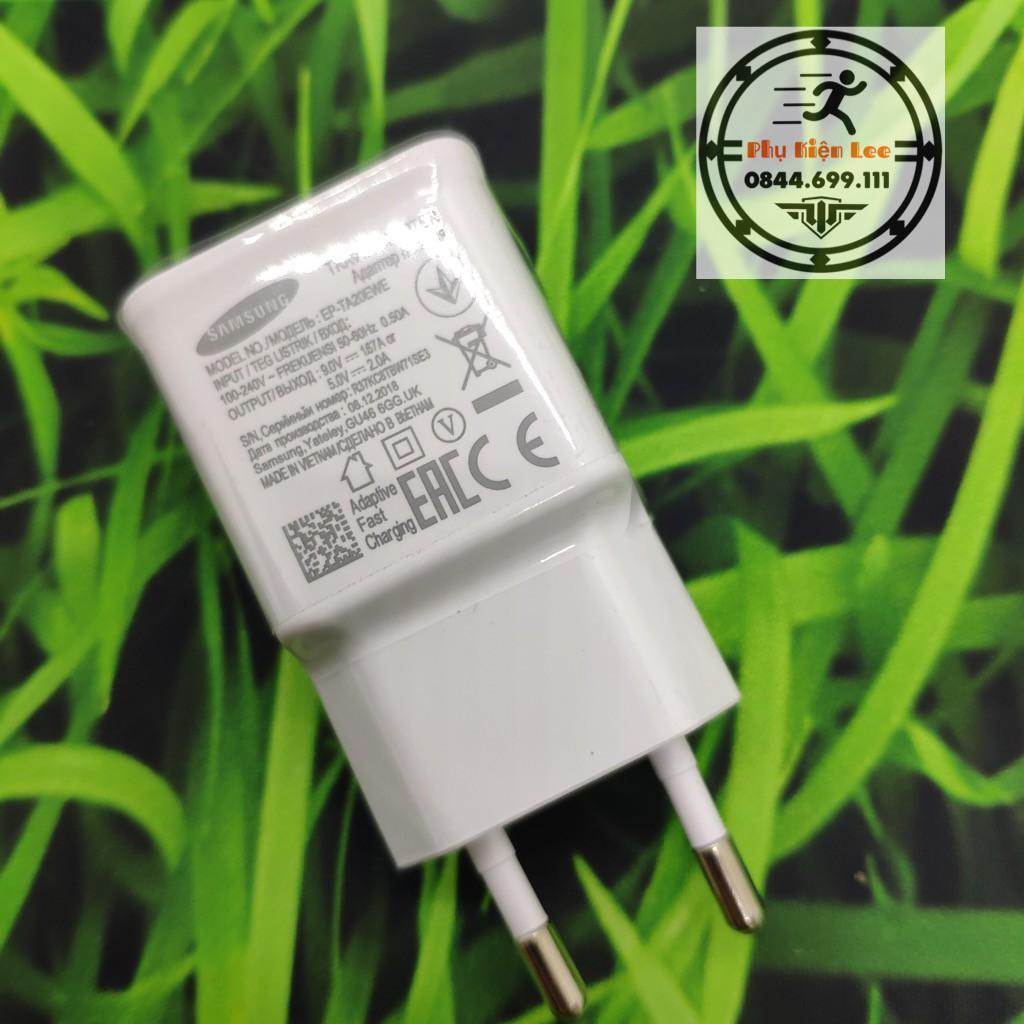 Bộ Sạc Nhanh Samsung S9/S10 Chân Type C - Q.C 3.0, Cho các đời điện thoại - Beetechvietnam