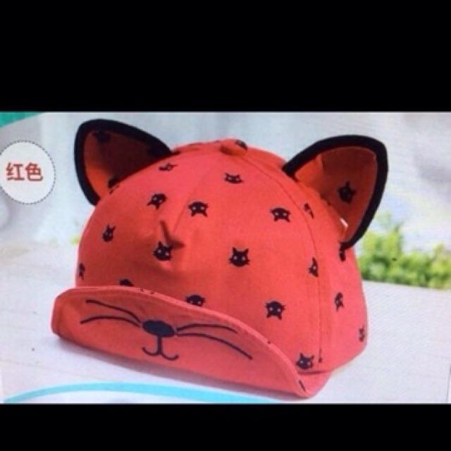 Mũ tai mèo cute cho bé dưới 3 tuổi