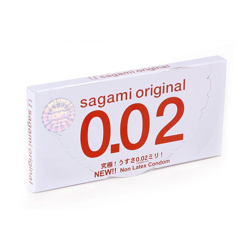 Bao cao su SAGAMI ORIGINAL 0.02 (HỘP 2) - 3032496 , 182366769 , 322_182366769 , 100000 , Bao-cao-su-SAGAMI-ORIGINAL-0.02-HOP-2-322_182366769 , shopee.vn , Bao cao su SAGAMI ORIGINAL 0.02 (HỘP 2)