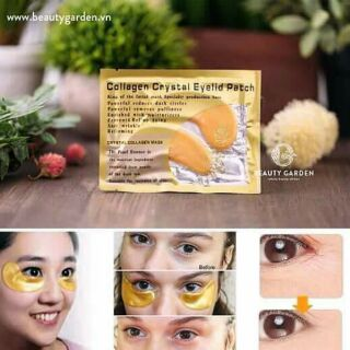 Nạ mắt colagen Crystal Eyelid Patch chống quầng thâm
