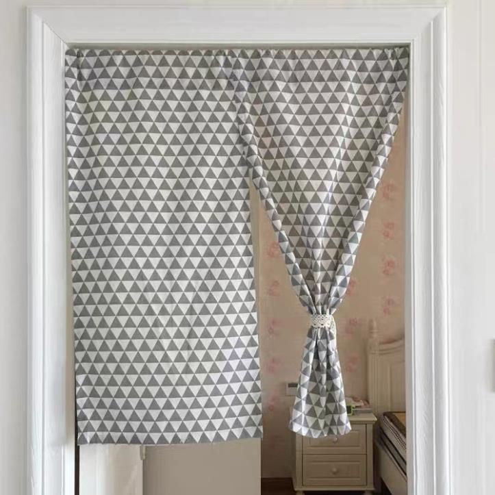 Rèm cửa, rèm tự treo kiểu Nhật đa năng loại 2 MẢNH (Đã bao gồm thanh treo rèm)
