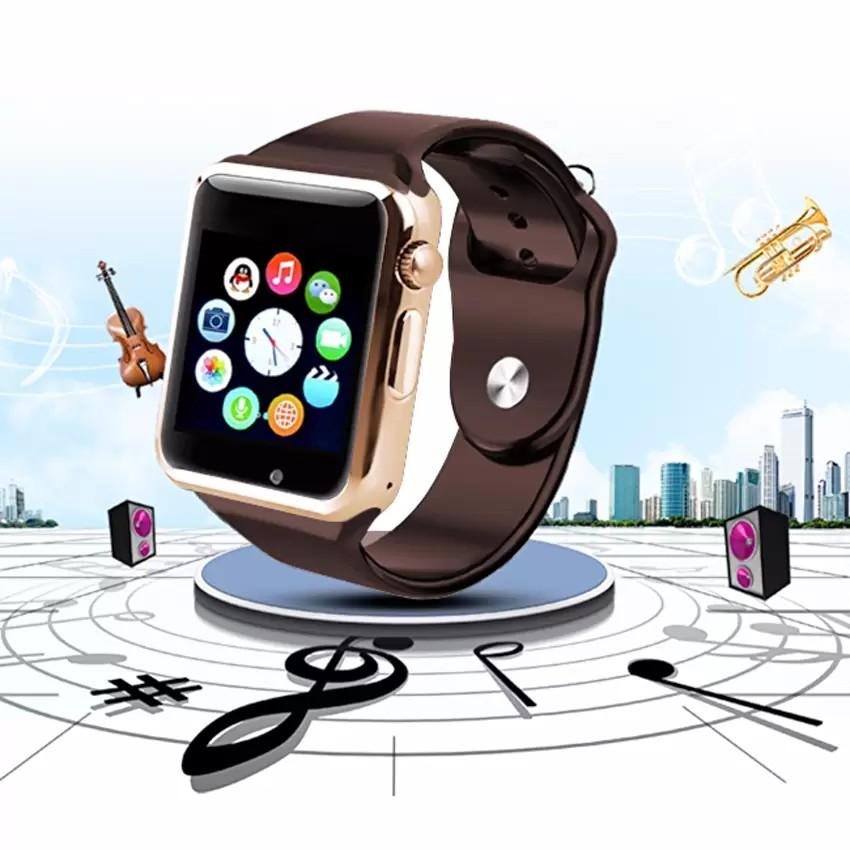 Đồng hồ thông minh Smartwatch A1 (Nâu Đồng) - 2772923 , 275977020 , 322_275977020 , 375000 , Dong-ho-thong-minh-Smartwatch-A1-Nau-Dong-322_275977020 , shopee.vn , Đồng hồ thông minh Smartwatch A1 (Nâu Đồng)