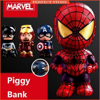 Superhero Piggy Bank Safe Saving Coin Box Bottle Piggy Bank for Paper Money Bank for Kid