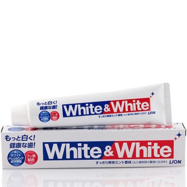 Kem đánh răng white and white lion nhật bản - 3374052 , 694803875 , 322_694803875 , 60000 , Kem-danh-rang-white-and-white-lion-nhat-ban-322_694803875 , shopee.vn , Kem đánh răng white and white lion nhật bản