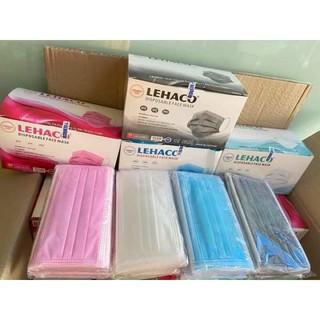 Sĩ 10 hộp khẩu trang y tế LEHACO 4 lớp giấy kháng khuẩn thumbnail