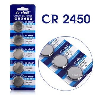 Vỉ 5 viên Pin CR2450 chính hãng thumbnail