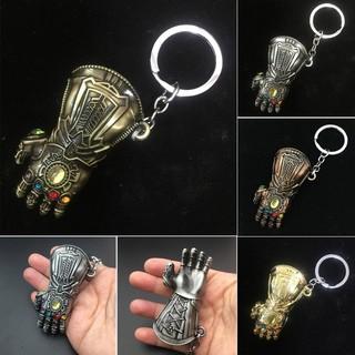 7cm Marvel Avengers Infinity War Gauntlet Thanos Gloves Keychain Alloy Toys