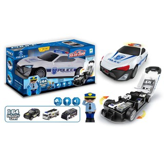 Bộ đồ chơi xe cảnh sát có đèn phát nhạc