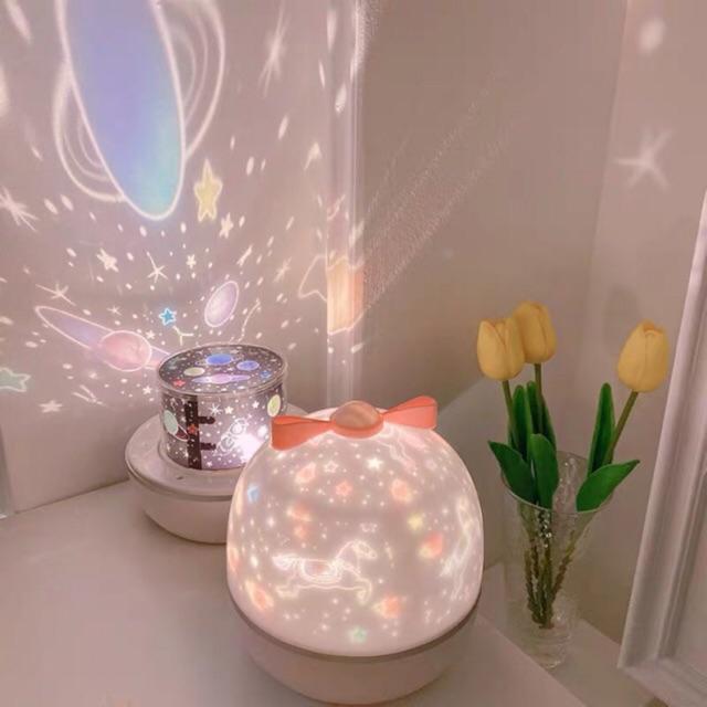 Đèn ngủ xoay chiếu hình Dream Wish box chính hãng One Fire (tặng kèm 5 bộ hình + dây s