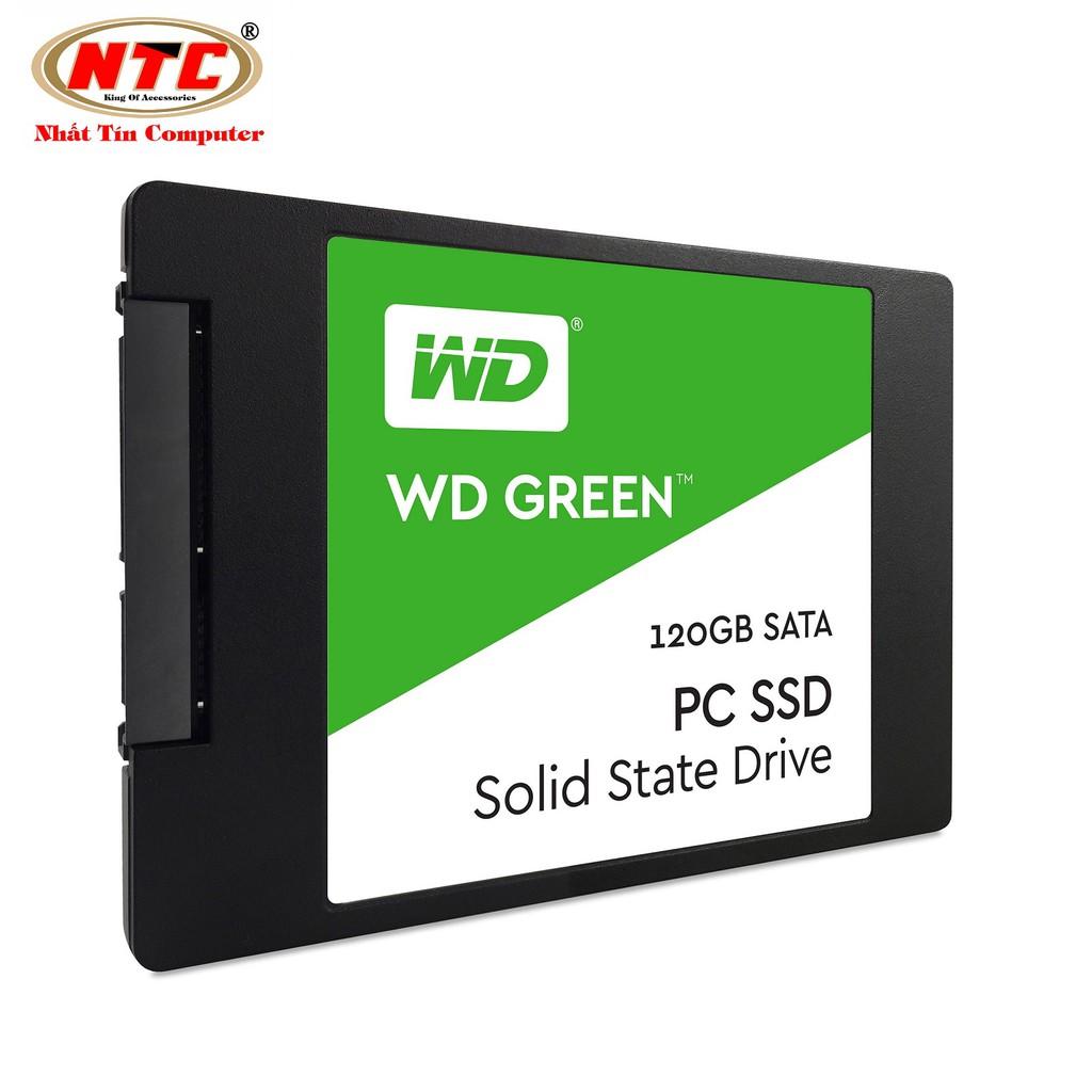 Ổ cứng SSD Western Digital Green Sata III 120GB (Xanh lá)