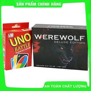 Combo Uno Đại Chiến + Ma Sói Ultimate Deluxe (Việt Hóa) bản mới_Hàng chất lượng cao