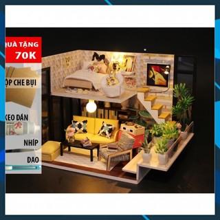 Mô hình nhà búp bê gỗ DIY Nhà búp bê Cathy's House Toy World