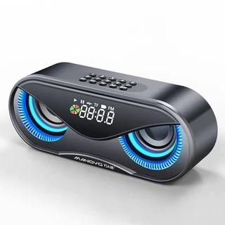 Loa Bluetooth Không Dây Hình Cú Có Đèn Led M6 Và Phụ Kiện