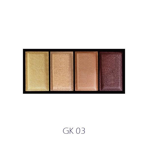 Phấn Mắt 4 Màu F.O.X Eyeshadow Palette | Shopee Việt Nam