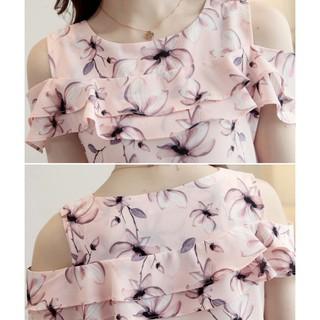 Áo kiểu hở vai xinh xắn -Ai-001 Chất liệu cao cấp, thời trang nữ 2019 T6