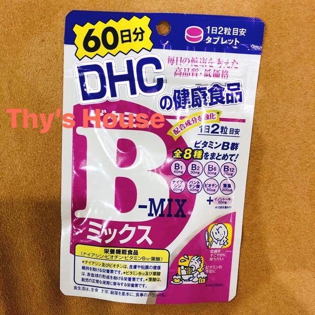 Viên uống DHC bổ sung Vitamin B - Mix 60days 120 viên