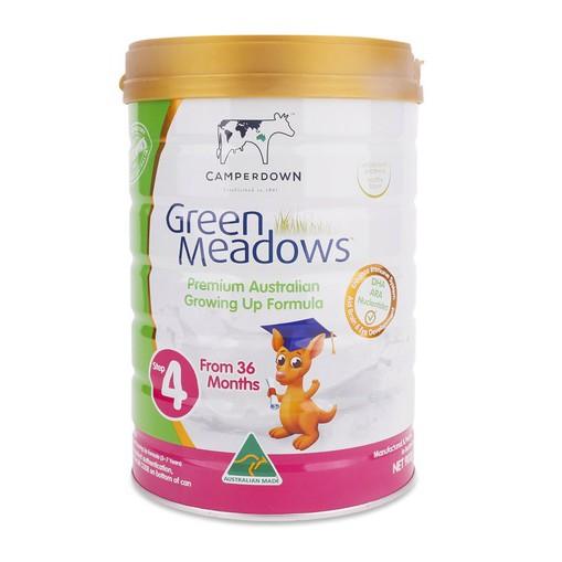 Sữa Green Meadows 4 900g của Úc (trên 36 tháng)