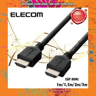 Dây Cáp HDMI Elecom CAC-HD14EL - 4K2K 3D Full HD - Tốc độ 10Gbps - Chuẩn 4K ( dài 1m-1,5m-2m-3m )