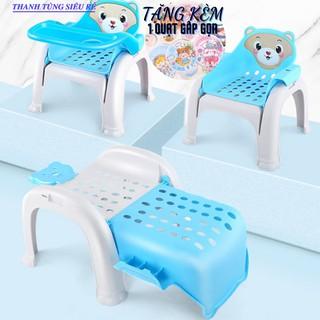 Ghế ăn dặm đa năng, Ghế cho bé ngồi tập tô, Dùng làm ghế gội đầu cho bé thumbnail