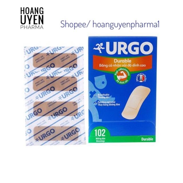 Băng cá nhân Urgo Durable / Transparent - Transparent-Trong100