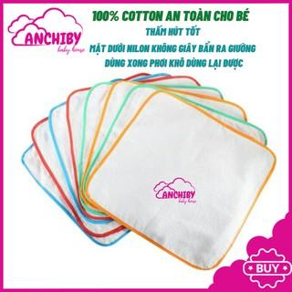 Sét 5 miếng lót chống thấm cho bé sơ sinh ,thấm hút tốt,giặt nhanh khô,dùng lại được -ANCHIBY