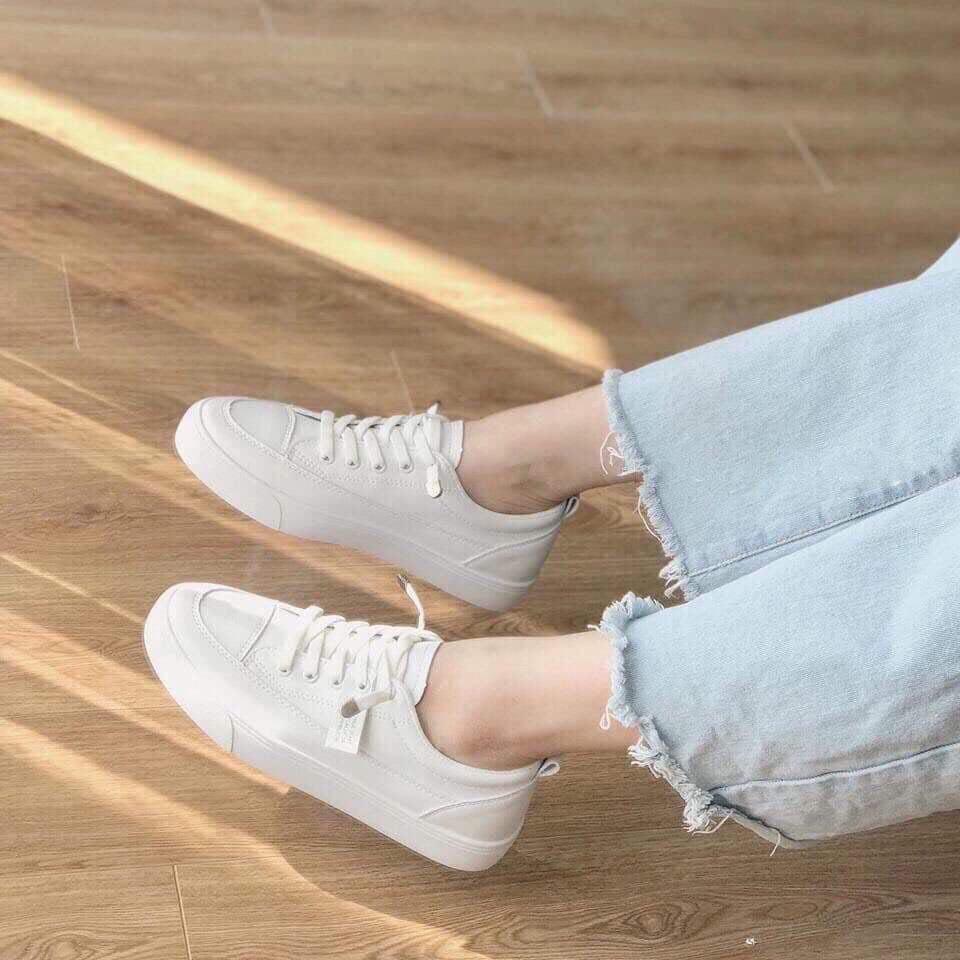 Giày thể thao trắng mẫu mới năm 2020 ms8801 ( HOME)