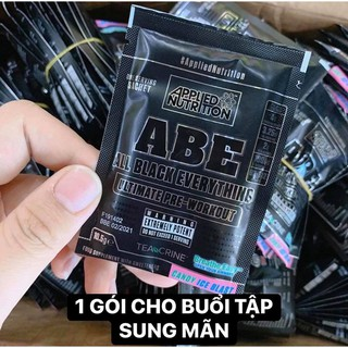 Combo 10-20-30 Gói Thử Sample Applied Nutrition ABE Pre Workout 1 lần dùng