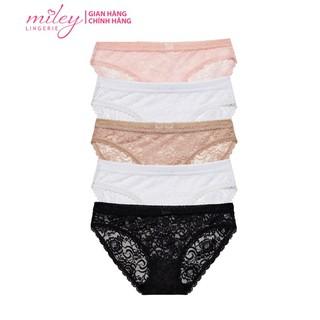 Combo 5 Quần Lót Nữ Ren Hoa Sexy Miley Lingerie FLS_03 (Giao màu ngẫu nhiên) thumbnail