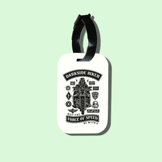 Travel tag cho túi xách balo du lịch in hình Darkside Biker thumbnail