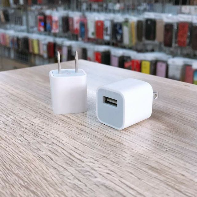 Cốc sạc vuông IPhone bảo hành 12th 1 đổi 1
