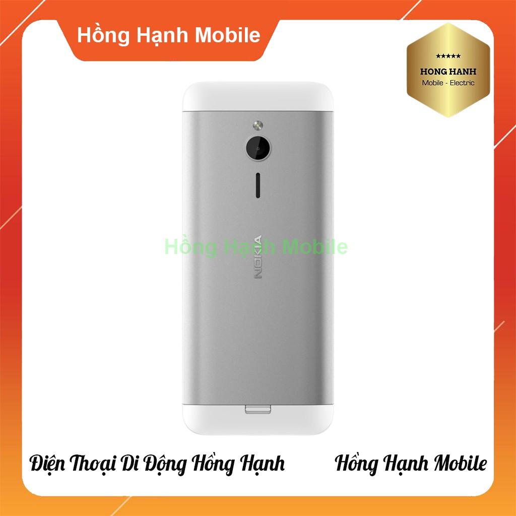 [Mã ELMALLCOIN hoàn 7% xu đơn 499K] Điện Thoại Nokia 230 2 Sim - Hàng Chính Hãng - Hồng Hạnh Mobile