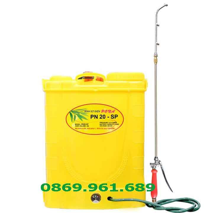 Bình xịt điện Pona 20l (PN 20-SP)_ bình phun dùng ắc quy 12V/12AH