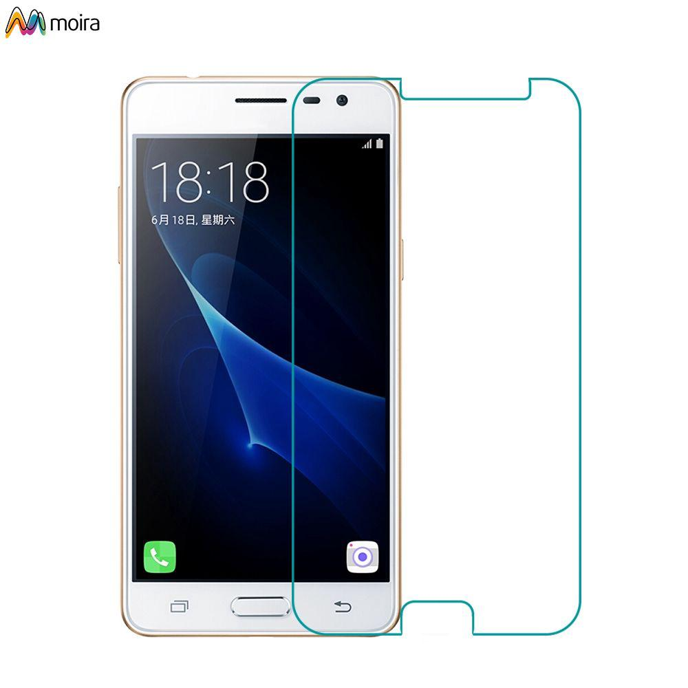 ☽ 2.5D 0.3mm Tempered Glass For Samsung Galaxy J3 screen Protector Free Shipping Moira