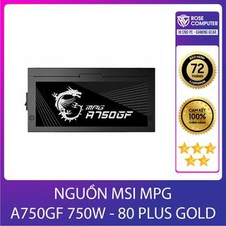 NGUỒN MSI MPG A750GF 750W - 80 PLUS GOLD thumbnail