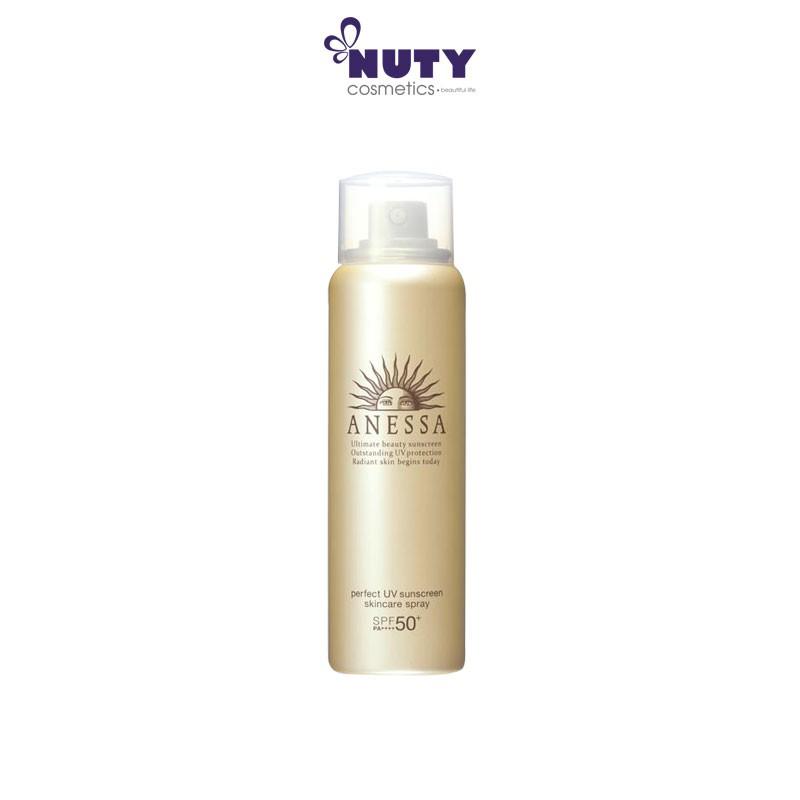Xịt Chống Nắng Shiseido Anessa Perfect UV Spray Sunscreen Aqua Booster SPF 50+ PA++++ (60g)