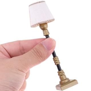 1/12 Dollhouse Miniature Furniture Floor Lamp Light