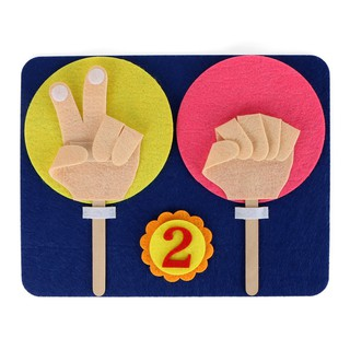 Kindergarten Mathematics Educational Toy Finger Numbers Set Child Teaching Toy