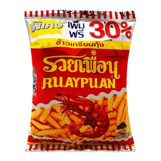 Lốc 12 Gói Snack Vị Tôm Ruay Puan Thái Lan - 9979811 , 1001660741 , 322_1001660741 , 41000 , Loc-12-Goi-Snack-Vi-Tom-Ruay-Puan-Thai-Lan-322_1001660741 , shopee.vn , Lốc 12 Gói Snack Vị Tôm Ruay Puan Thái Lan