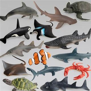 Mô hình đồ chơi các loài động vật biển dành cho các bé