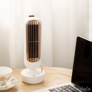 Tower Fan Desk Table Fan Quiet Cooling Personal Small Cooling Fan for Bedroom Home Office