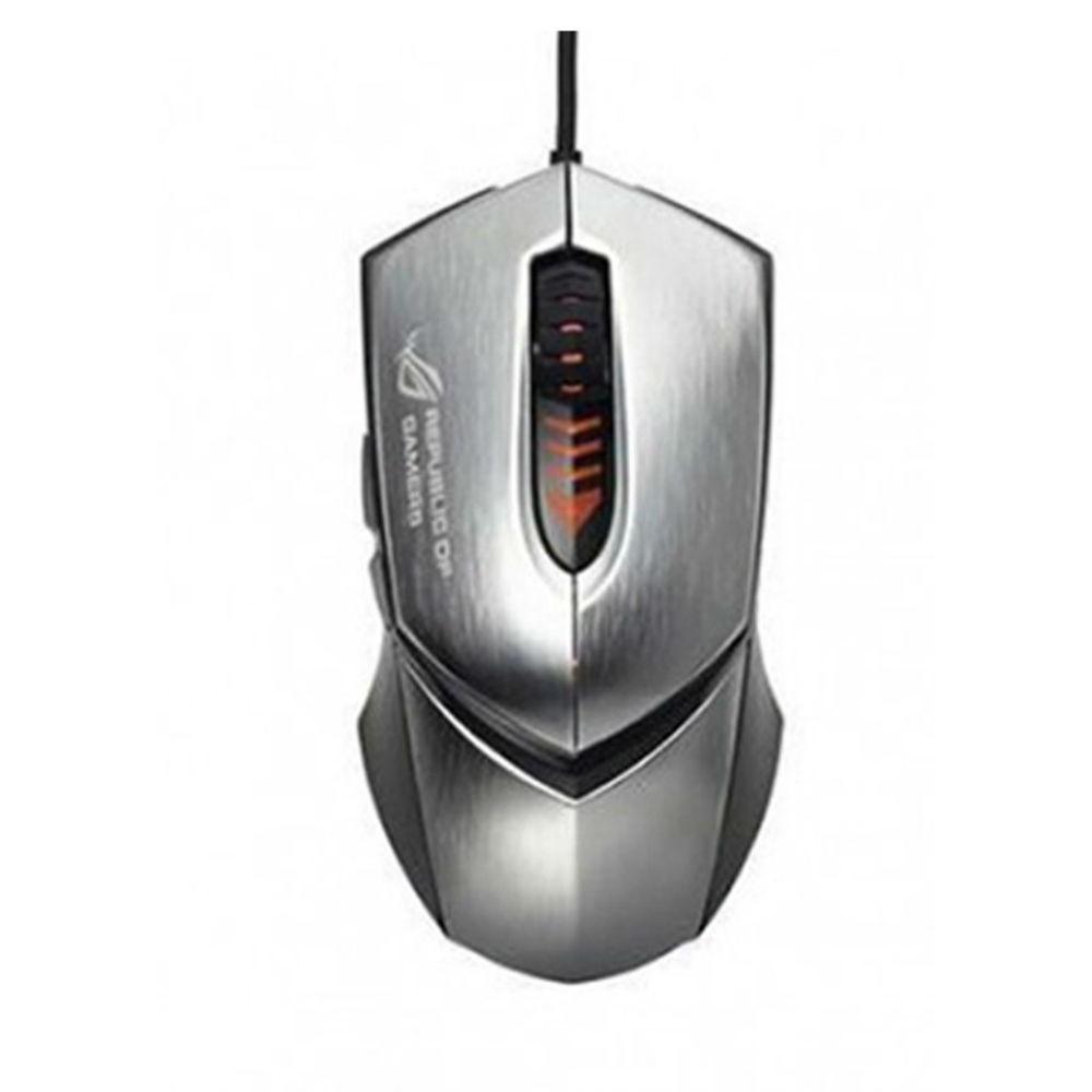 [Mã ELTECHZONE giảm 5% đơn 500K] Chuột có dây Asus Gaming GX1000 (Bạc)