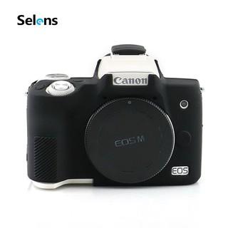 Ốp Selens bảo vệ camera bằng silicone cho Canon EOS M50