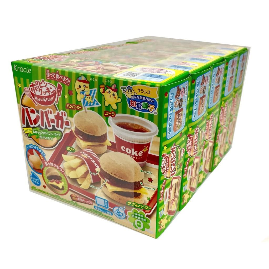 Popin Cookin Hamburger Đồ Chơi Nấu Ăn Tự Làm Bánh Hamburger Nhật Bản