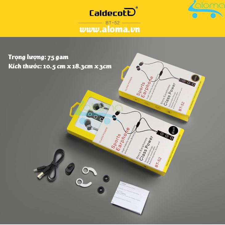 Tai nghe Bluetooth 4.1 Caldecot BT-52 nghe hay trống khỏe