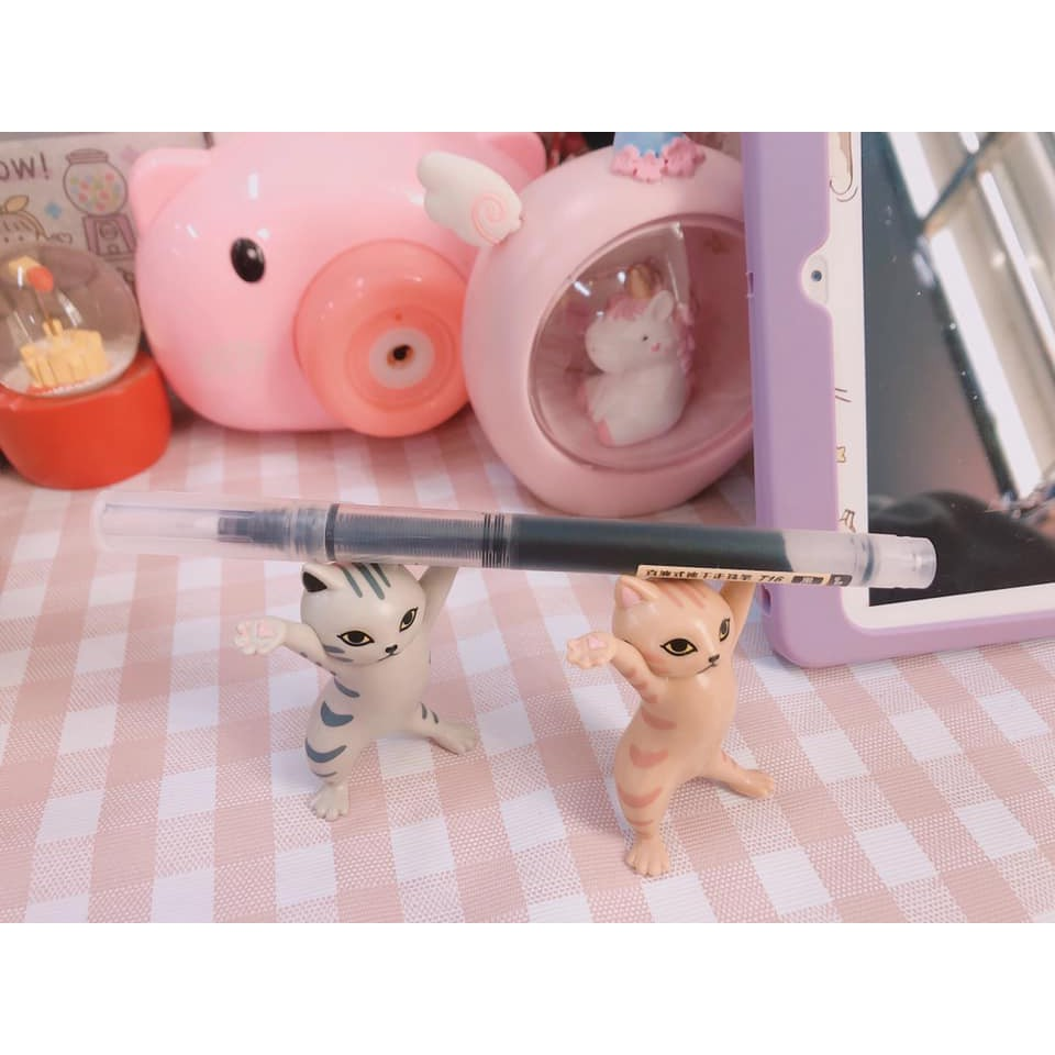 Set 5 Mô Hình Mèo Xinh Xắn Dùng Để Trang Trí