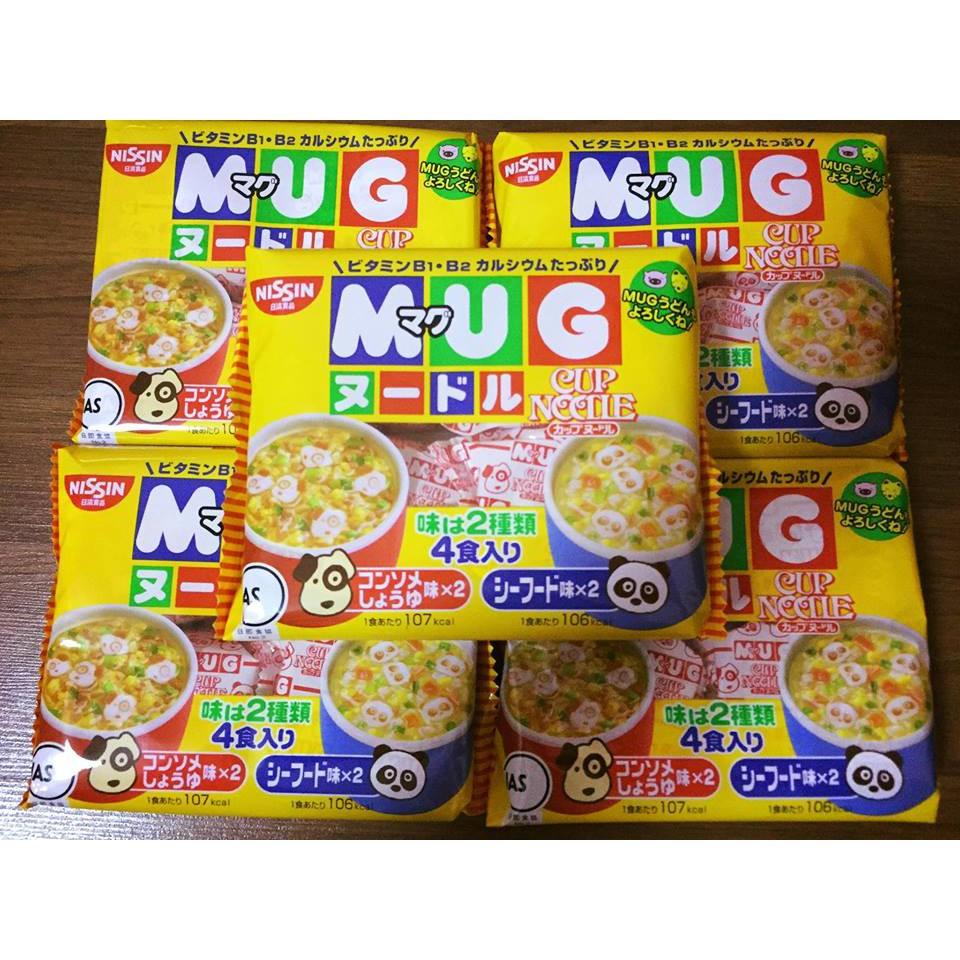 Combo 12 gói mỳ MUG Nhật