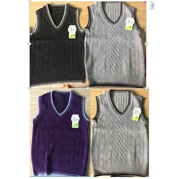 Combo 3 áo len ghile cho bé trai 0-3 tuổi
