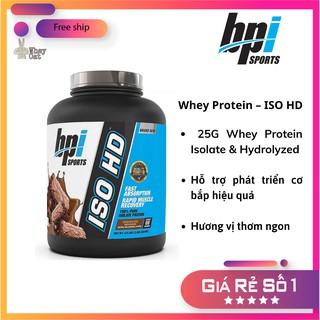 WHEY ISO HD 100% Isolate 5Lbs – Whey Protein hàng chính hãng – Whey Cat