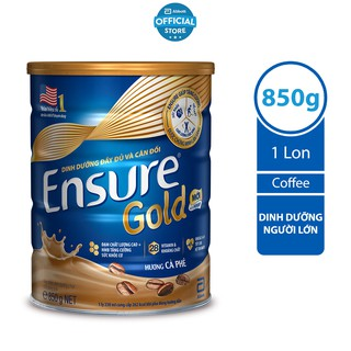 Sữa bột Ensure Gold Coffee (HMB) 850g