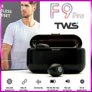 [ÂM TỐT- PIN TRÂU]Tai Nghe Bluetooth AMOI F9 bản PRO Quốc Tế kiêm sạc dự phòng 2000mAh,điều khiển cảm ứng, màn led